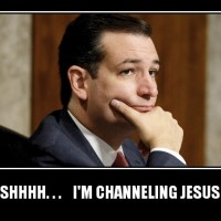Ted Cruz Channeling Jesus