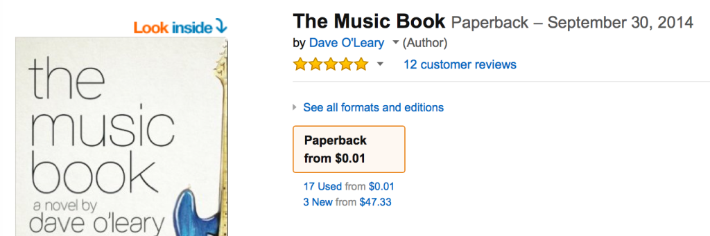 The Music Book out of print