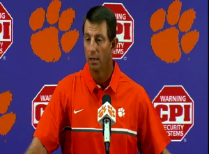 Dabo Swinney Solves Everything