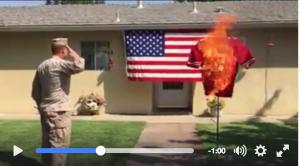 marine burns kaepernick
